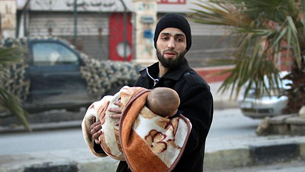 Aussichtslose Lage für die Menschen im Osten Aleppos