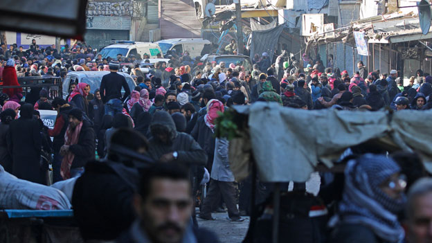 Fragile Waffenruhe in Aleppo