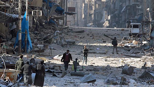 Kriegsverbrechen in Syrien – die UNO sammelt Beweise