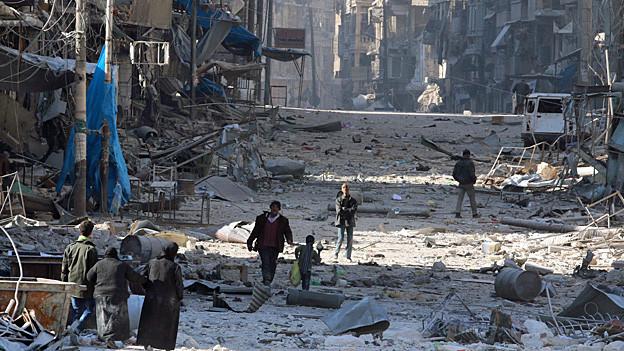 Audio «Kriegsverbrechen in Syrien – die UNO sammelt Beweise» abspielen.