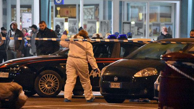 Mutmasslicher Attentäter bei Polizeikontrolle erschossen