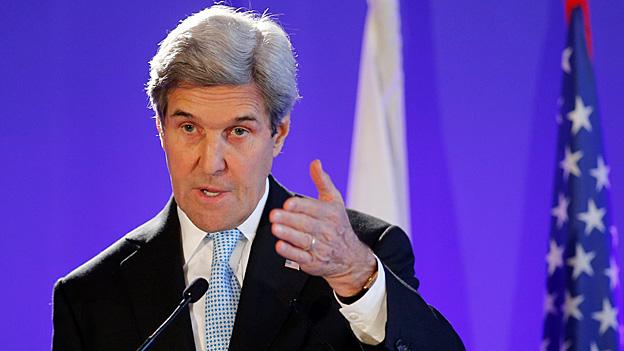 US-Nahostpolitik – John Kerry pocht auf Zweistaaten-Lösung