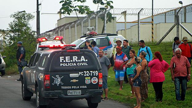 Audio «Brasilien – Drogenhandel führt zu Gefängnisrevolte» abspielen.