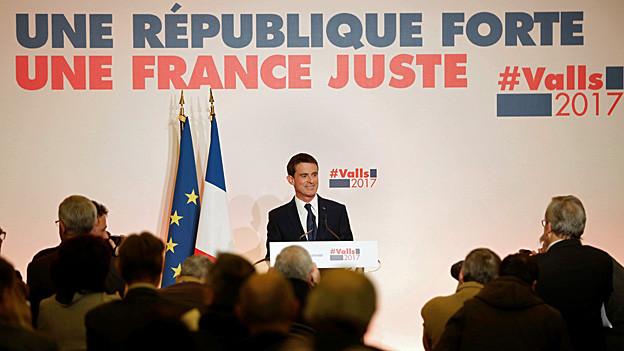 Audio «Manuel Valls: «Die Linke ist nützlich für das Land»» abspielen.