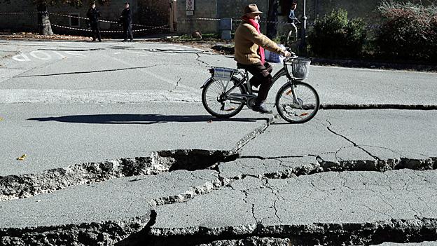 Neues Erdbeben in Mittelitalien