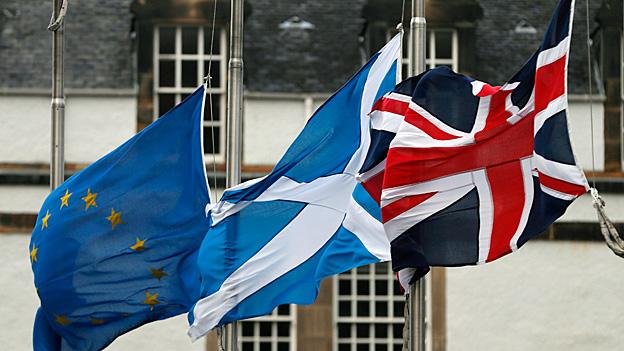 Harter «Brexit»-Plan – Angst in Schottland und Irland