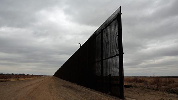 Audio «Die Mauer gegen Einwanderung – der Plan des US-Präsidenten» abspielen.