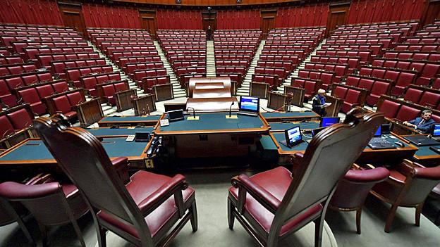 Audio «Das Oberste Gericht Italiens urteilt über Wahlgesetz» abspielen.