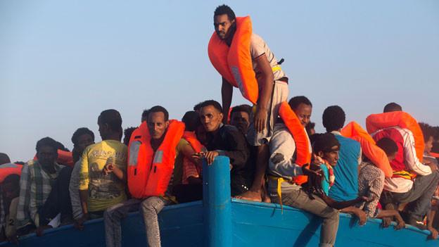 Audio «Bundesverwaltungsgericht verschärft Asylpraxis gegenüber Eritrea» abspielen