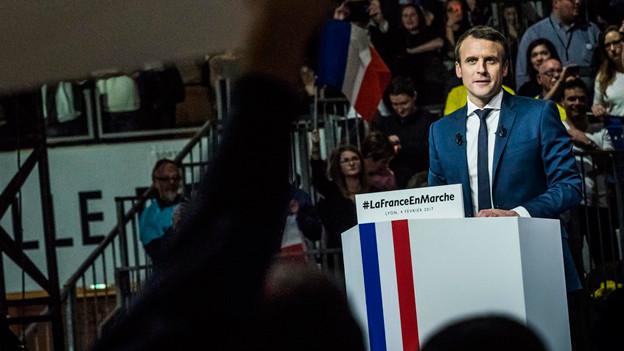 Audio «Macron hält sich weiter bedeckt» abspielen.