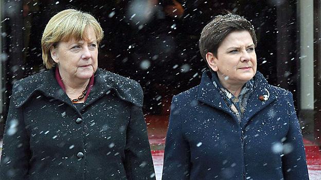 Die Kluft zwischen Berlin und Warschau