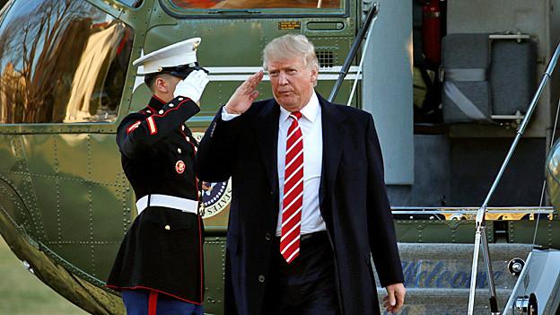 Audio «Trumps Antiterror-Strategie: «Er wird sich immer widersprechen»» abspielen