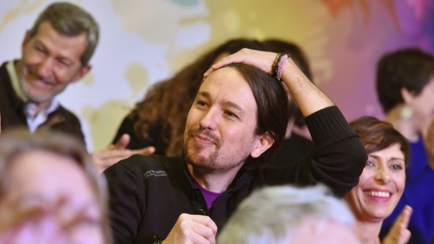 Audio «Richtungsstreit in der Protestpartei «Podemos»» abspielen