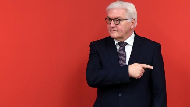 Audio «Steinmeier - vom Aussenminister zum Präsidenten» abspielen