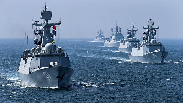 Militärische Stärke verschiebt sich in den Osten