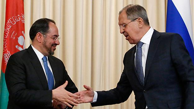 Audio «Internationale Afghanistankonferenz – Russland markiert Präsenz» abspielen