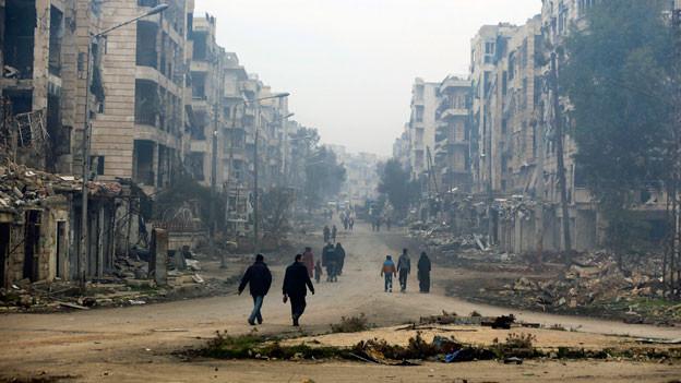 Audio «Schlechte Ausgangslage für die syrische Opposition» abspielen