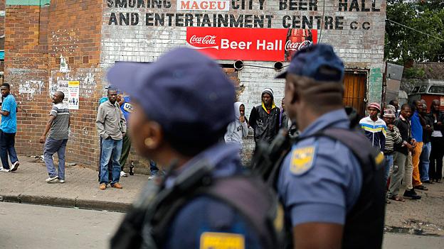 Fremdenfeindliche Krawalle in Südafrika