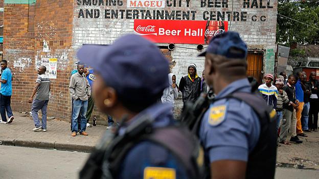 Audio «Fremdenfeindliche Krawalle in Südafrika» abspielen