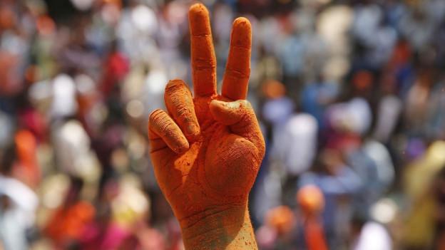 Audio «Politische Weichenstellung in Indien» abspielen.