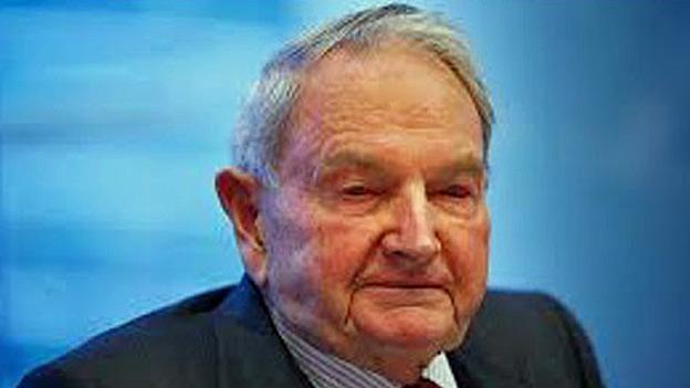Zum Tod von David Rockefeller