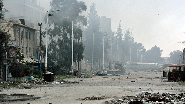 Audio «Gefechte im Nordosten der syrischen Hauptstadt» abspielen