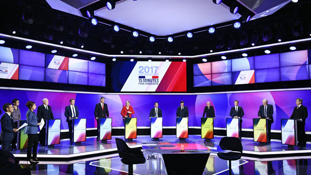 Die fünf Highlights des französischen Wahlkampfs