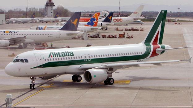 Leere Kassen bei Alitalia