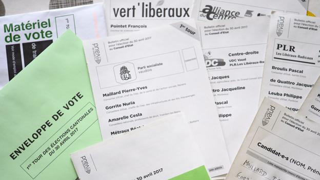 Waadt: Fünf bisherige Regierungsräte bestätigt