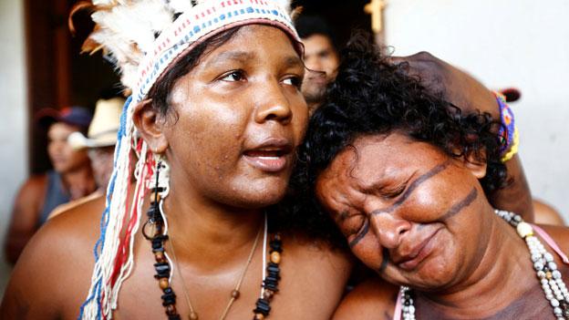 Indigene Völker kämpfen um ihre Schutzgebiete