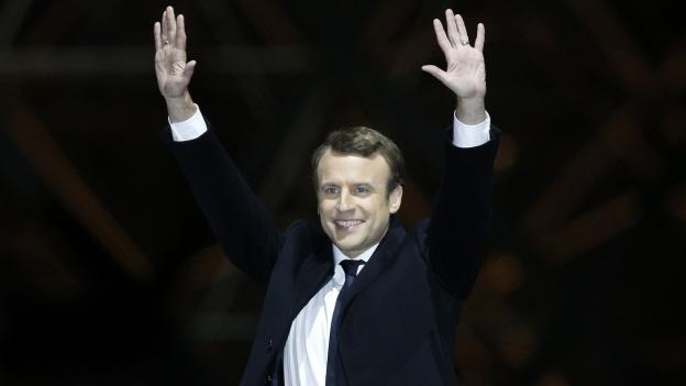 Président Macron: «Eine junge, ausgleichende Kraft in der Mitte»