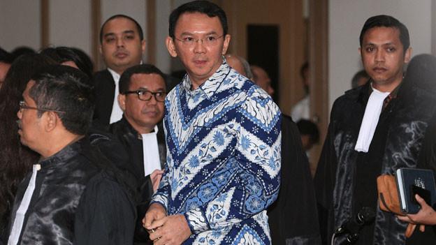 Audio «Jakartas Gouverneur wegen Blasphemie verurteilt» abspielen