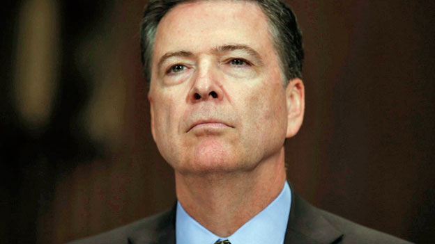 FBI-Chef James Comey ist in Ungnade gefallen