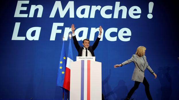 Macron-Partei präsentiert Kandidaten für die Parlamentswahlen