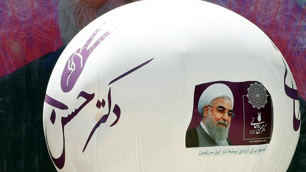 Iranischer Präsident Rohani wiedergewählt