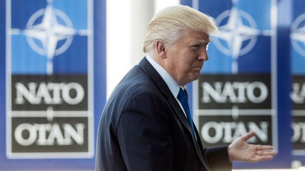 Audio «Trumps Besuch bei der Nato in Brüssel» abspielen