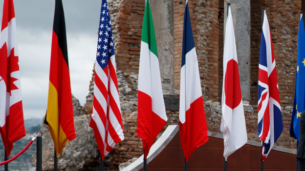 Der G7-Gipfel im italienischen Taormina