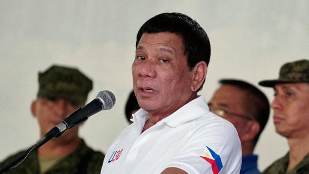 Rodrigo Duterte ruft zum Widerstand gegen Islamisten auf