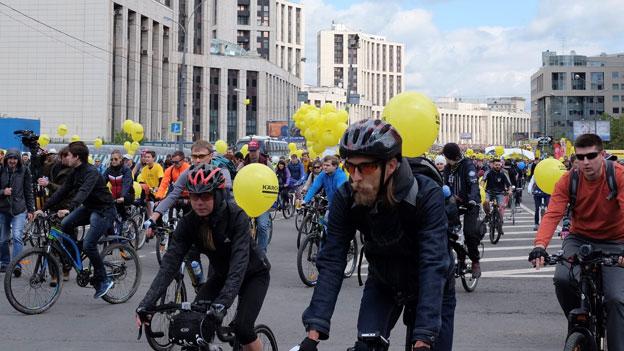 Moskau: Velostadt der Zukunft?