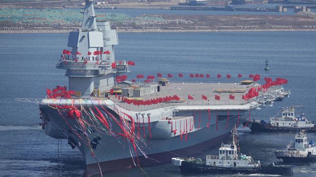 Audio «Bedrohliche Aufrüstung von Kriegsschiffen» abspielen.
