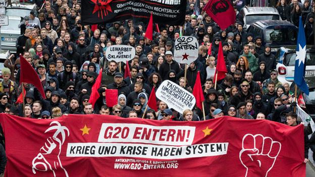 Audio «G20-Gipfel in Hamburg» abspielen.