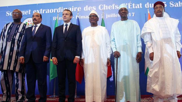Neue Sicherheitstruppe für Westafrika