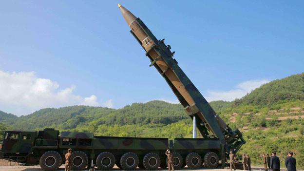 Audio «Nordkorea provoziert erneut mit Raketentest» abspielen