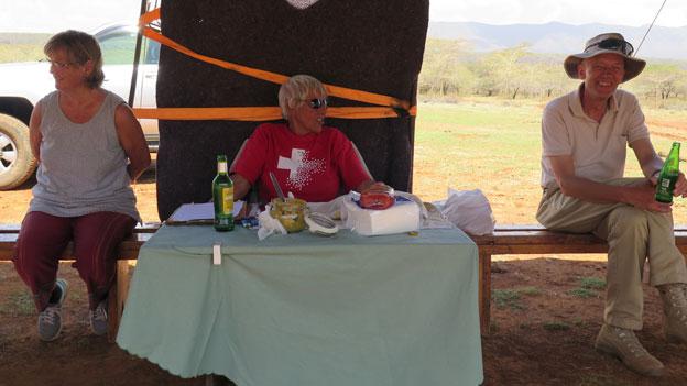 Feldschiessen im kenianischen Rift Valley