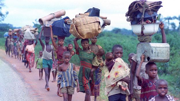 Biafra-Krieg reformierte humanitäre Arbeit der Schweiz