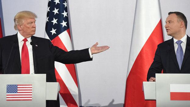 US-Präsident Donald Trump zu Besuch in Polen
