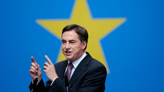 Audio «Oberster EU-Aussenparlamentarier auf hartem Kurs» abspielen.