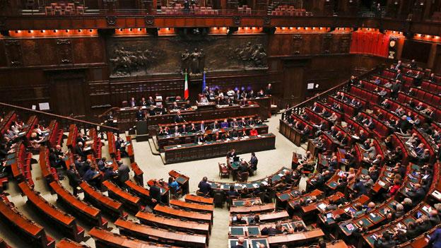 Italien: Wo Politiker die Partei wechseln wie das Hemd