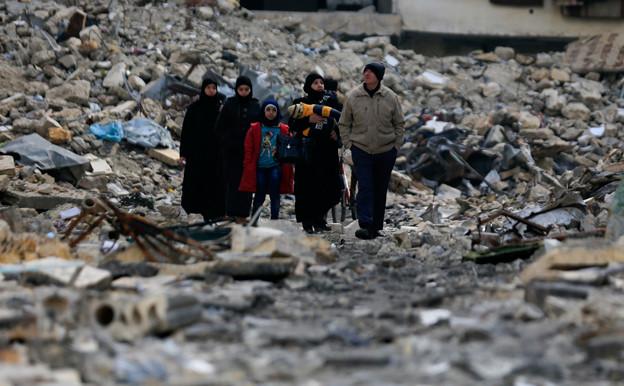 Audio «Wieviel kostet der Wiederaufbau in Syrien?» abspielen