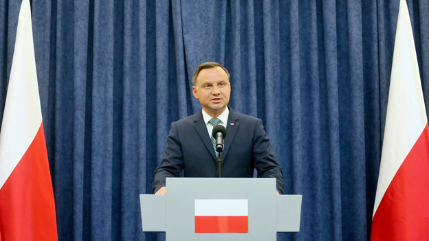 Audio «Polens Präsident legt Veto gegen Justizreform ein» abspielen